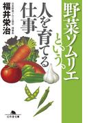 野菜ソムリエという、人を育てる仕事(幻冬舎文庫)