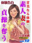 甘美なる体験・素人妻の貞操を奪う(小説秘戯デジタル版)