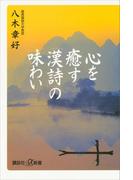 心を癒す「漢詩」の味わい(講談社+α新書)