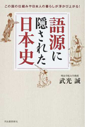 語源に隠された日本史 この国の仕組みや日本人の暮らしが浮かび上がる!