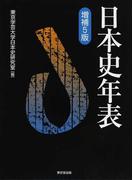 日本史年表 増補5版