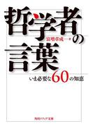 哲学者の言葉 いま必要な60の知恵(角川ソフィア文庫)