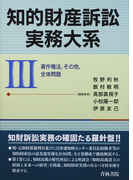 知的財産訴訟実務大系 3 著作権法,その他,全体問題