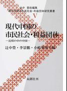 現代中国の市民社会・利益団体 比較の中の中国 (現代世界の市民社会・利益団体研究叢書)
