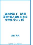 源氏物語 下 (池澤夏樹=個人編集 日本文学全集 全30巻)