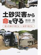 土砂災害から命を守る 知っておくべきこと+なすべきこと