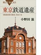 東京鉄道遺産 「鉄道技術の歴史」をめぐる(ブルー・バックス)