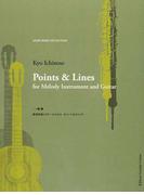 旋律楽器とギターのためのポインツ&ラインズ 点は結ばれて線になる。原始的なコードとリズムのエチュード (ASAHI BEER COLLECTION)