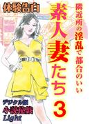 【体験告白】隣近所の淫乱で都合のいい素人妻たち3(小説秘戯デジタル版 Light)