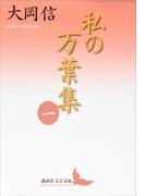 私の万葉集 一(講談社文芸文庫)
