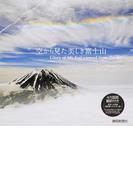 空から見た美しき富士山