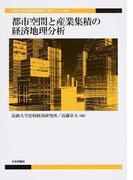 都市空間と産業集積の経済地理分析 (法政大学比較経済研究所研究シリーズ)