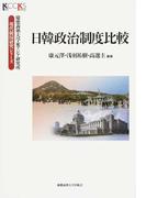 日韓政治制度比較 (慶應義塾大学東アジア研究所・現代韓国研究シリーズ)