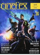 cinefex 日本版 NUMBER36 ガーディアンズ・オブ・ギャラクシー/インターステラー/マレフィセント
