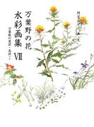 万葉野の花水彩画集(7)(銀の小箱・アートギャラリー)