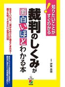 裁判のしくみが面白いほどわかる本(中経出版)