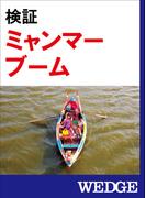 検証 ミャンマーブーム(WEDGEセレクション)