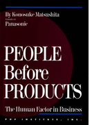 People Before Products(英語で読む「松下幸之助」)