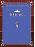 【オンデマンドブック】小春 ( 青空文庫POD(大活字版) )