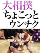 大相撲ちょこっとウンチク 国技館「ひがぁ~しぃ~」、実は北(朝日新聞デジタルSELECT)