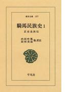 【全1-3セット】騎馬民族史(東洋文庫)