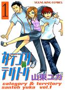 【1-5セット】カテゴリテリトリ(ヤングキング)