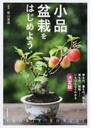 小品盆栽をはじめよう いちばんよくわかる決定版 改訂新版