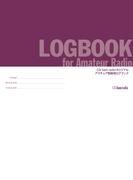 LOGBOOK for Amateur Radio CQ ham radio オリジナル アマチュア無線用ログブック