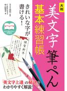 【期間限定価格】大判 美文字筆ぺん基本練習帳 きれいな字が書ける!