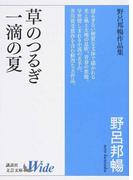 草のつるぎ/一滴の夏 野呂邦暢作品集 (講談社文芸文庫Wide)