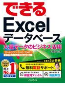 【期間限定ポイント50倍】できるExcel データベース 大量データのビジネス活用に役立つ本  2016/2013/2010/2007対応