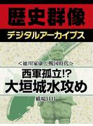 <徳川家康と戦国時代>西軍孤立!? 大垣城水攻め(歴史群像デジタルアーカイブス)