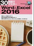 30時間でマスターWord & Excel 2016