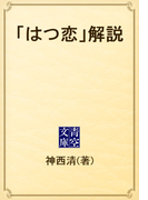 「はつ恋」解説(青空文庫)