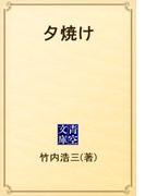 夕焼け(青空文庫)