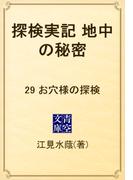 探検実記 地中の秘密 29 お穴様の探検(青空文庫)