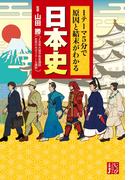 1テーマ5分で原因と結末がわかる 日本史(じっぴコンパクト文庫)