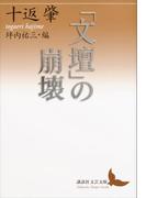 「文壇」の崩壊(講談社文芸文庫)