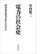 電力の社会史 何が東京電力を生んだのか(朝日選書)