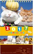 かご猫卓上カレンダー (学研カレンダー2017)