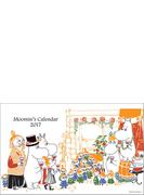 ムーミン壁掛けカレンダー(仲間と乾杯)