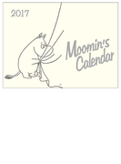 ムーミン壁掛けカレンダー(モノトーン) (学研カレンダー2017)