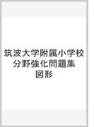 筑波大学附属小学校 分野強化問題集 図形