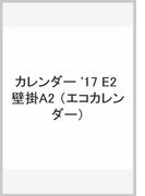 E2 エコカレンダー壁掛A2