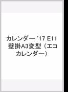 E11 エコカレンダー壁掛A3変 (2017年版カレンダー)