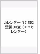 E52 エコカレンダー壁掛B3変 (2017年版カレンダー)