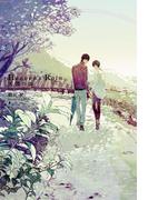 Heaven's Rain 天国の雨 Limited Edition 小冊子付き【イラスト入り】(ダリア文庫e)