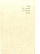 英語手帳2017年 白色