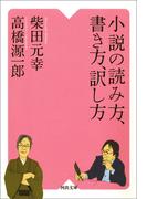 小説の読み方、書き方、訳し方(河出文庫)
