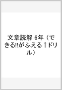 できる!!がふえるドリル小学6年国語文章読解
